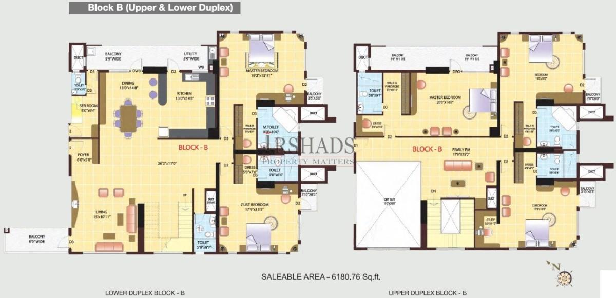 HM Grandeur - Duplex Unit - Block B