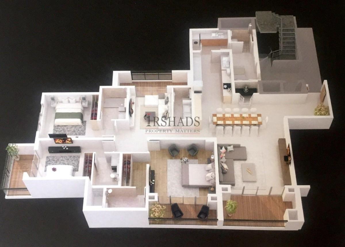 3 Bedroom - 3D