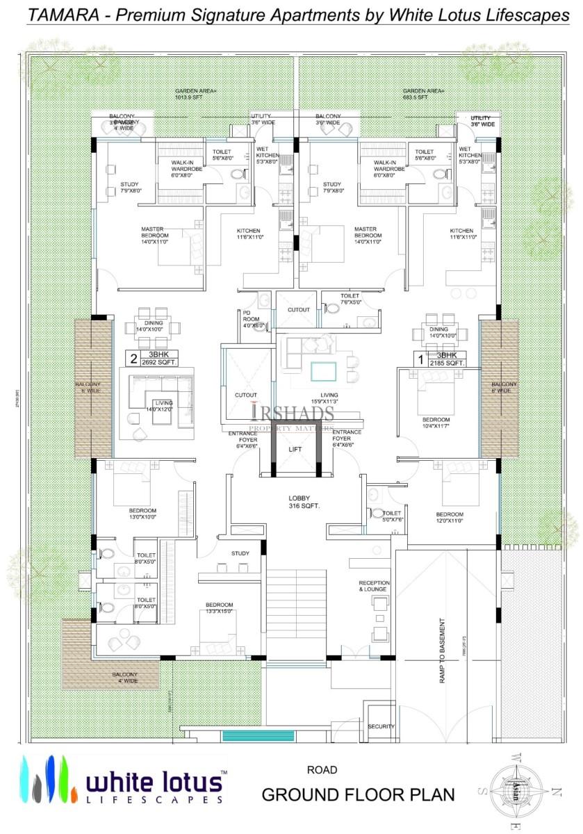 Tamara - Ground Floor Plan