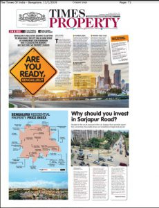 Times Property article on Irshad Property Matters
