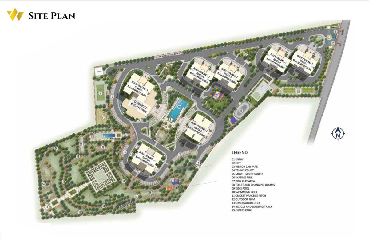 Prestige waterford Plan